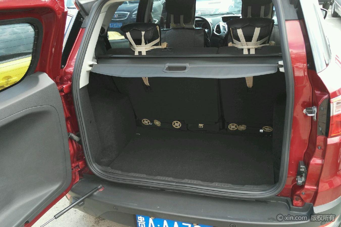 福特翼搏后备箱