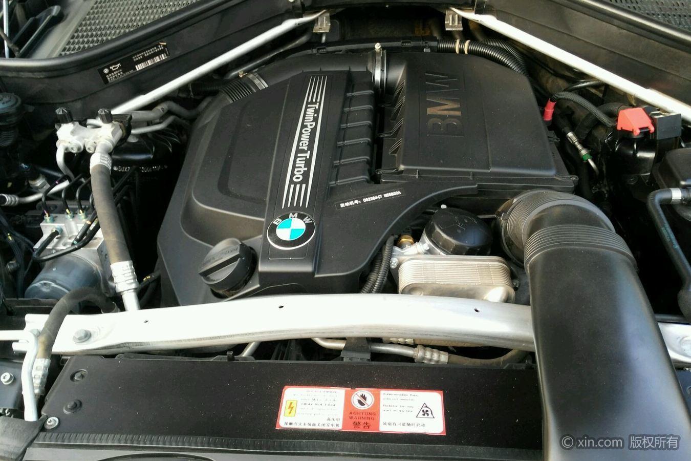 宝马X5(进口)发动机特写