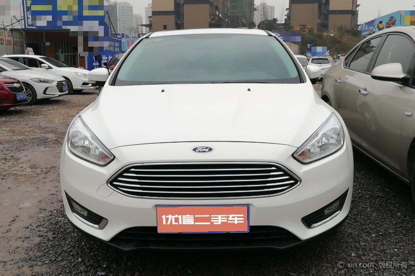 福特 福克斯三厢 2018款 1.5t 自动 ecoboost180精英型