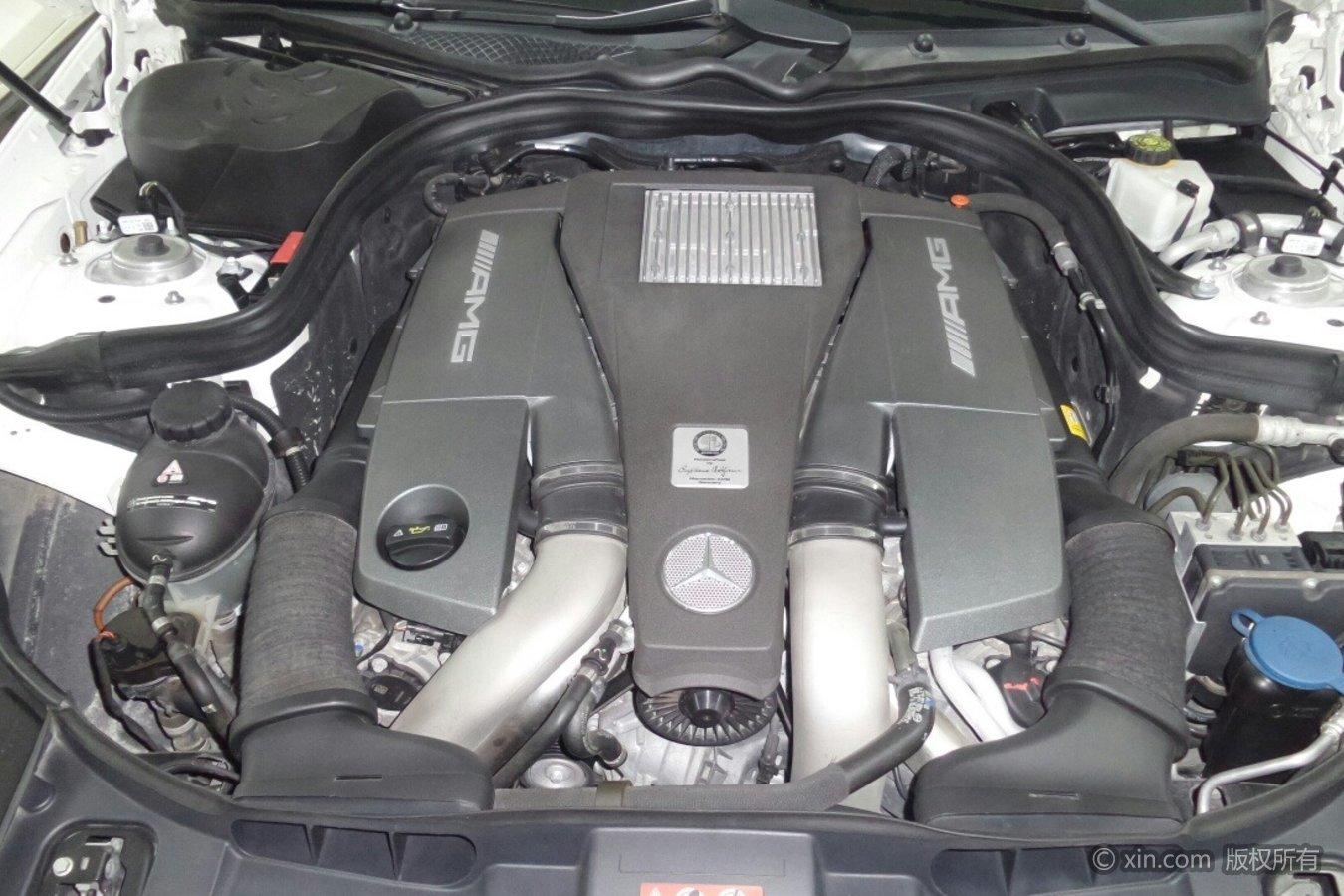 奔驰CLS级AMG发动机