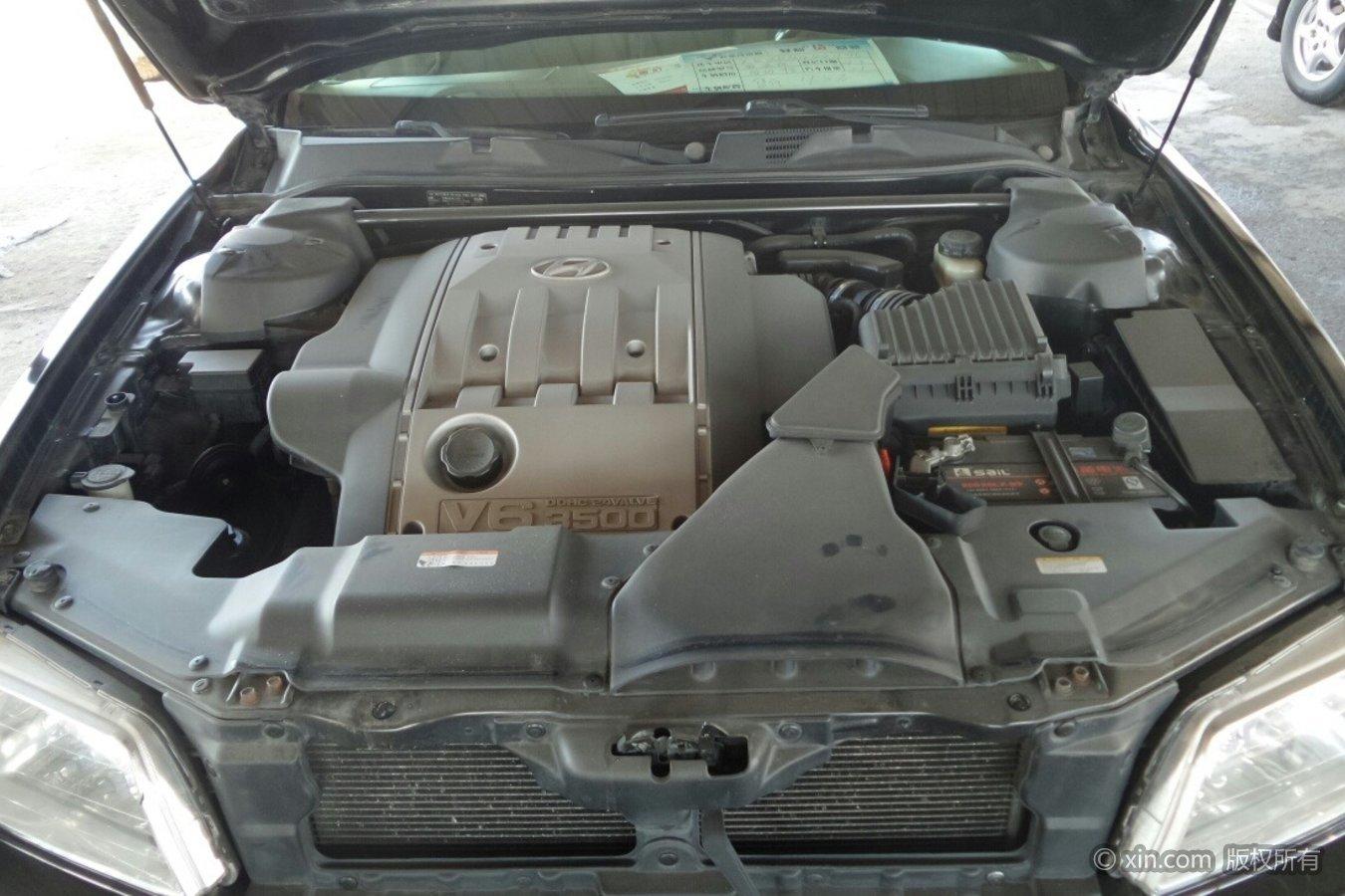现代雅科仕发动机