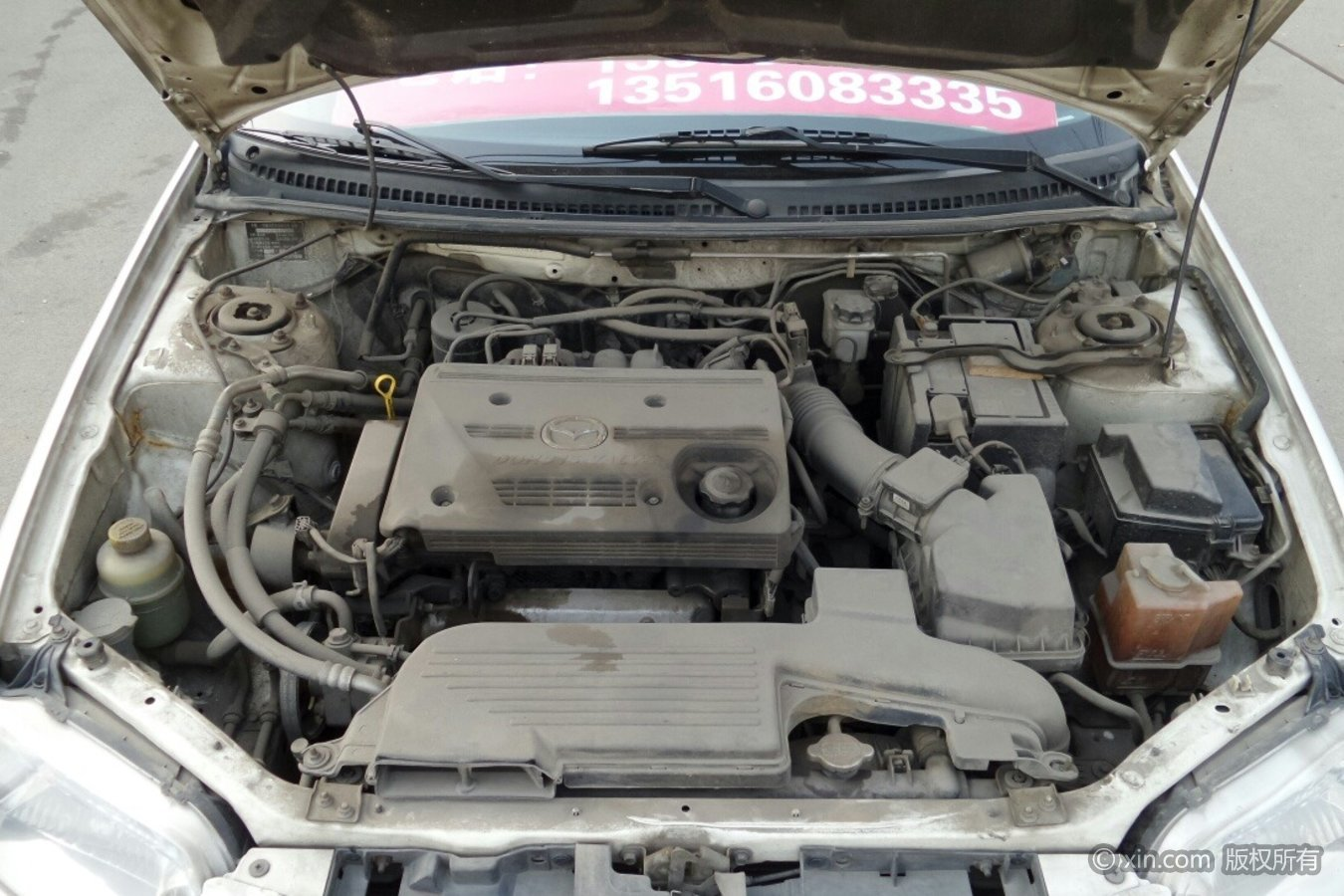 海马323发动机
