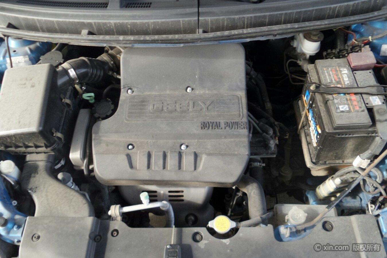 吉利汽车SC5发动机