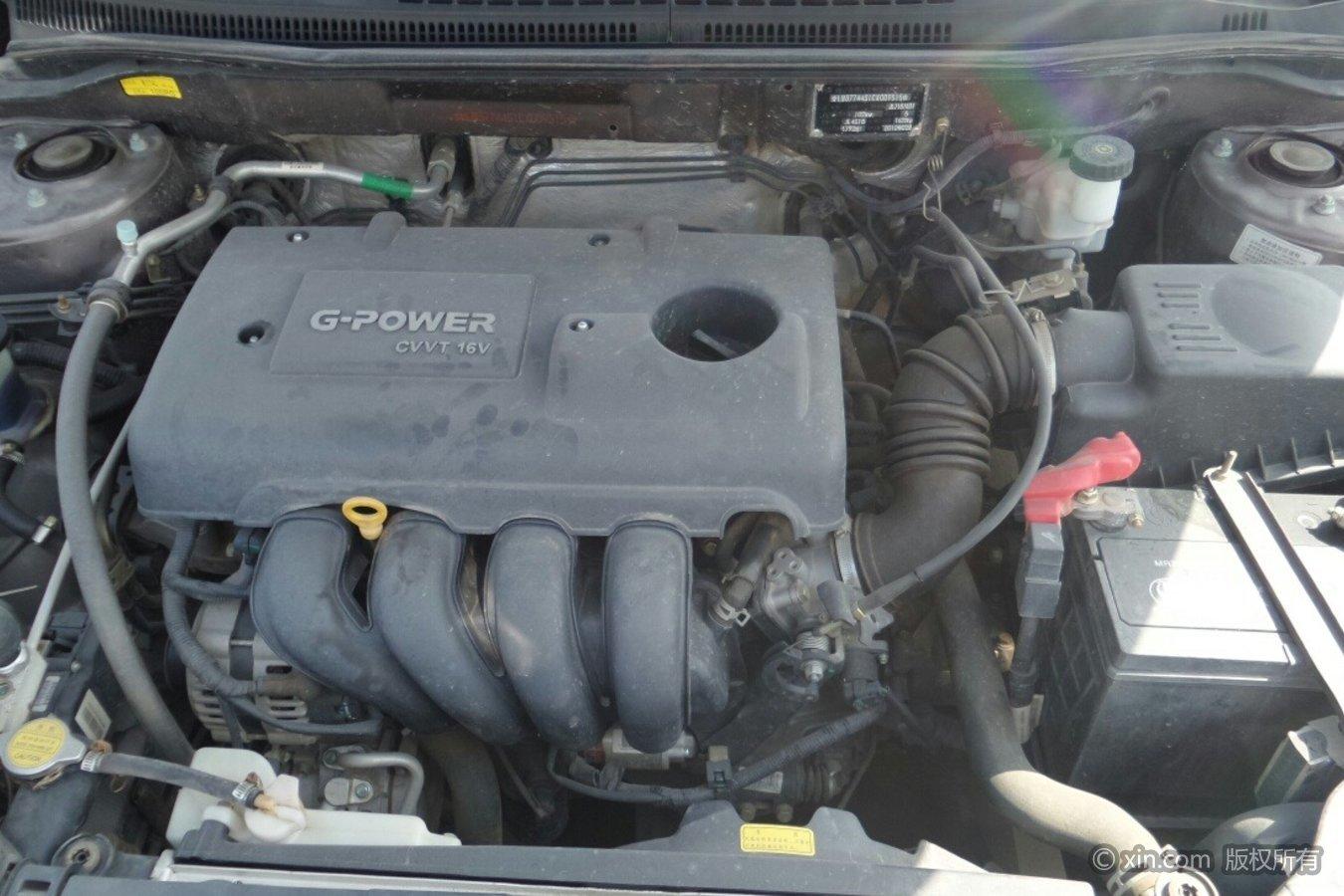 吉利汽车GC7发动机