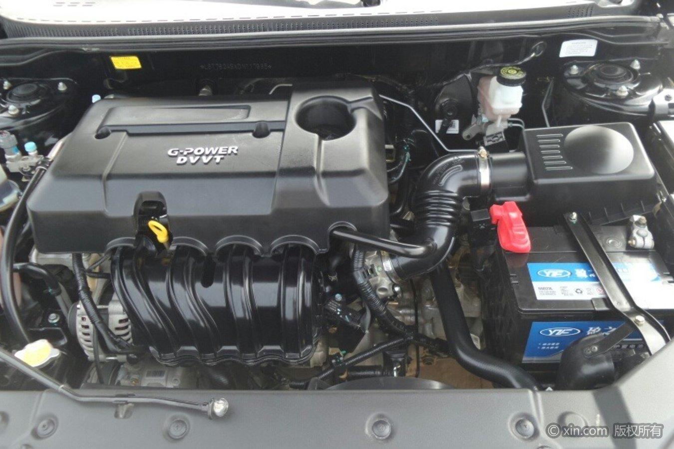 吉利汽车EC7发动机