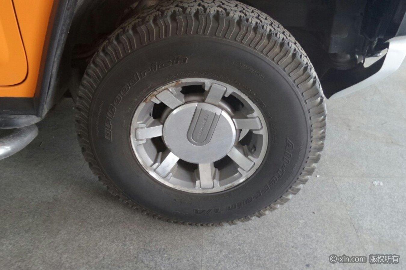 悍马H2轮毂