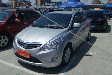 现代 瑞纳三厢 2011款 1.4 自动 GL标准型