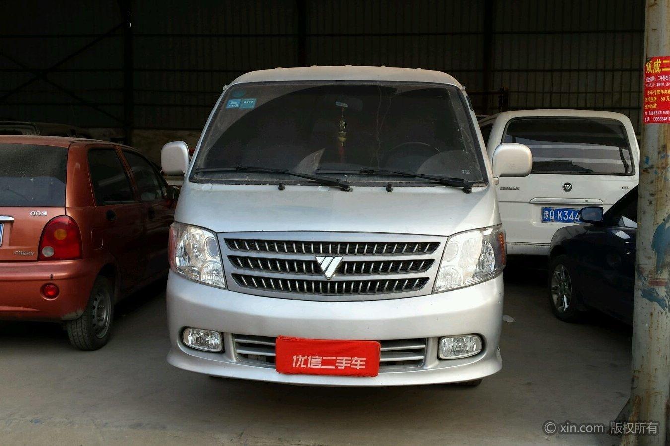 福田 风景爱尔法 2008款 2.8t 手动 柴油版9座快运